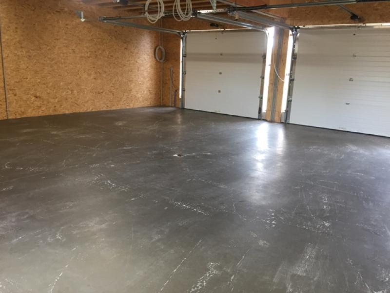 plaatsen polybeton garage