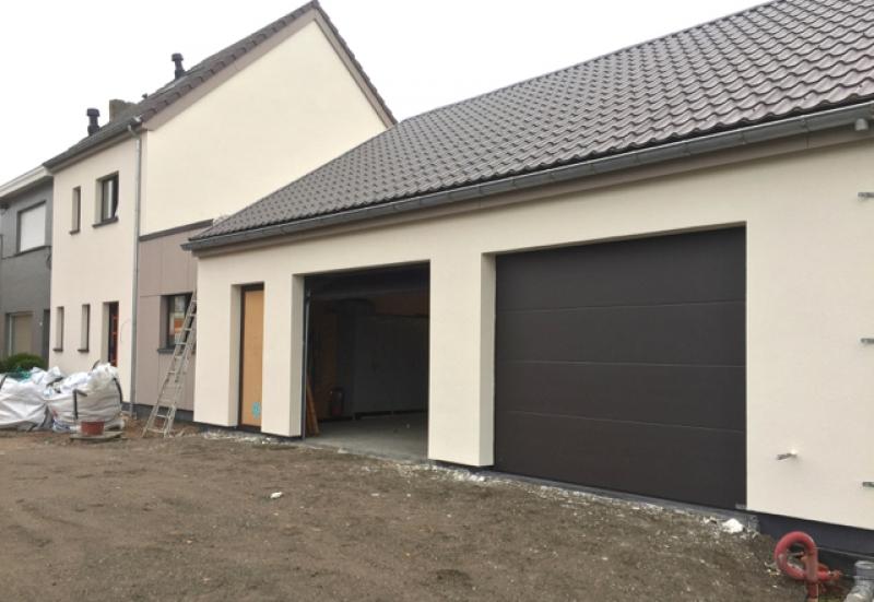 plaatsen gevelbepleistering garages