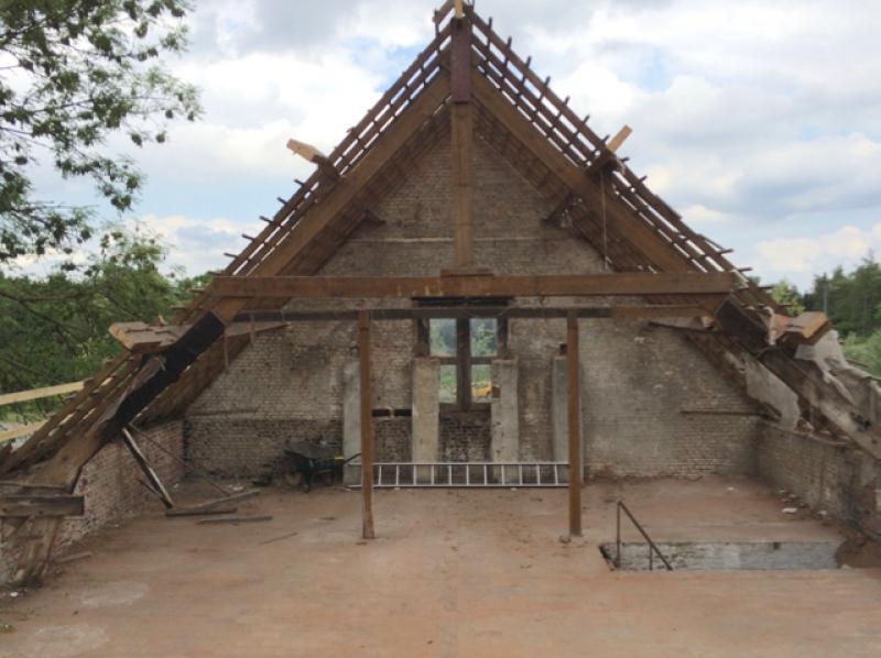 afbraak dakconstructie