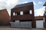 Ruwbouw- en dakwerken - gevel in gelijmde steen