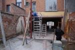 Plaatsing van stalen constructie