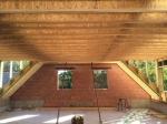 dakwerken-plaatsen daktimmer in I-JOIST