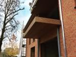 terrassen afgewerkt met thermowood
